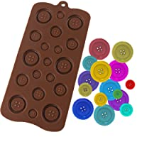 Luxbon Silicone Fastener Cake Moulds Decoration Tools for Homemade Pudding, Jello, Chocolate Jelly
