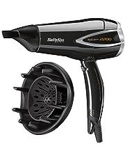 BaByliss Expert - Secador para el pelo con difusor, 2200 W, aire frío,