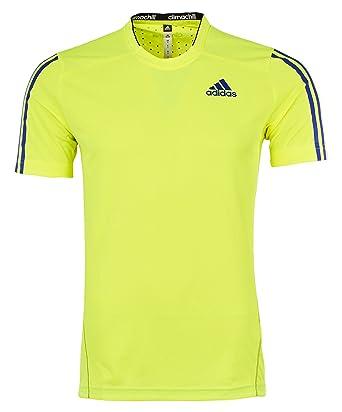 ae19ca8b05a adidas Mens T Shirt Function Training Flourescent Jersey Athletic Tee Short  Sleeve Shirt New A95779 (