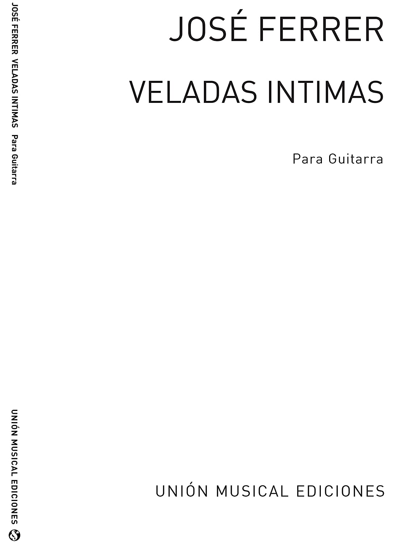 Ferrer: Veladas Intimas Cuatro Piezas Faciles Op.17 para Guitarra ...