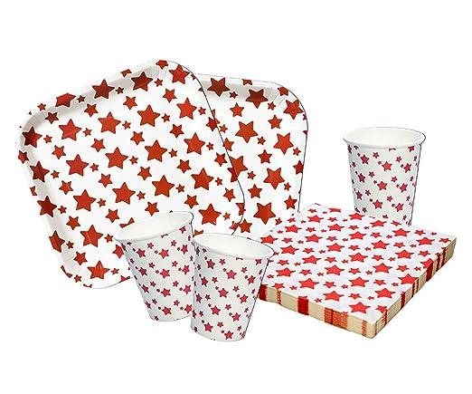 Platos, Vasos y servilletas Desechables Cumpleaños Niña o ...