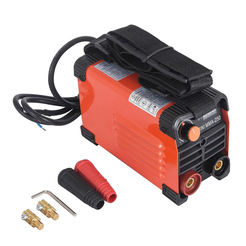 VEVOR 20-130A MMA-250 Welding Machine Handheld ARC Welder 220V Electric Handy Welder IGBT Inverter AC Input Mini PWM controlling system