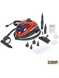 AutoRight SteamMachine C900054.M Red Multi-Purpose Steam Cleaner for Cleaning Vehicle's Upholstery, Windows, Leather...