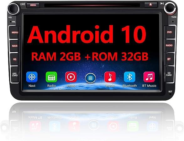 Awesafe Android 10 Autoradio Für Vw Skoda Seat 2 Din 8 Elektronik