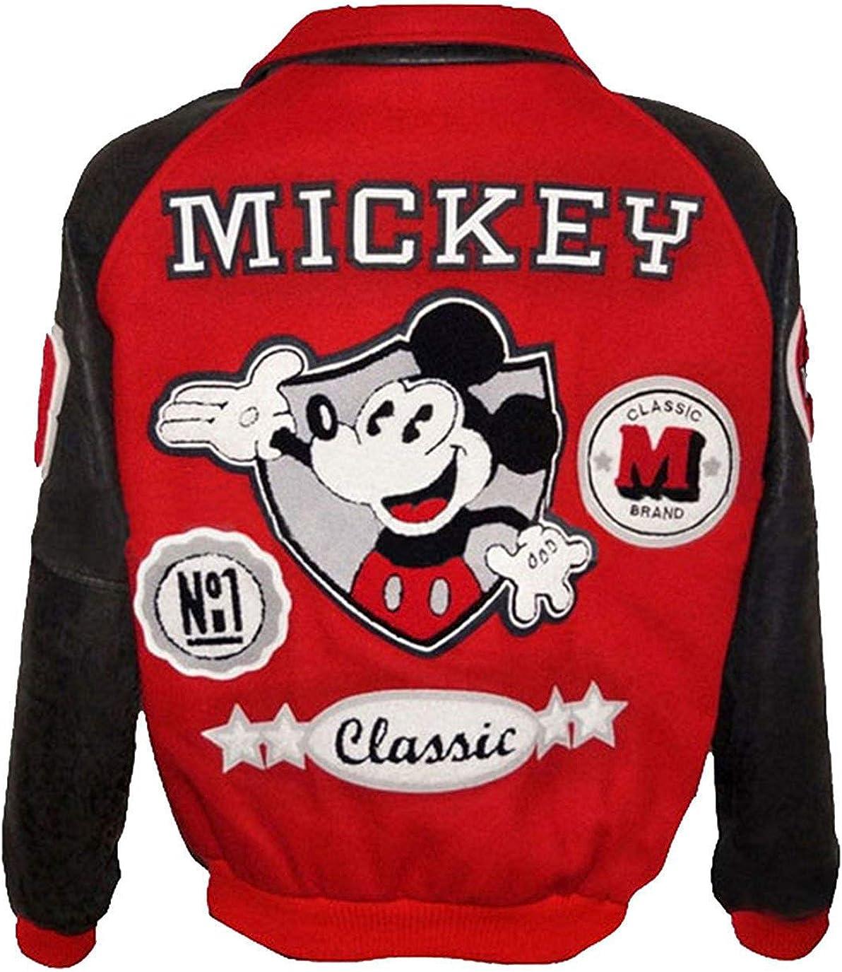 Michael Jackson Mickey Mouse - Chaqueta bomber clásica