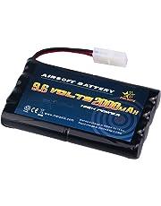 Melasta AA 9.6v 2000mAh NiMH Battery Pack with Tamiya Connector for RC Cars Boats RC Gadgets Airsoft Guns