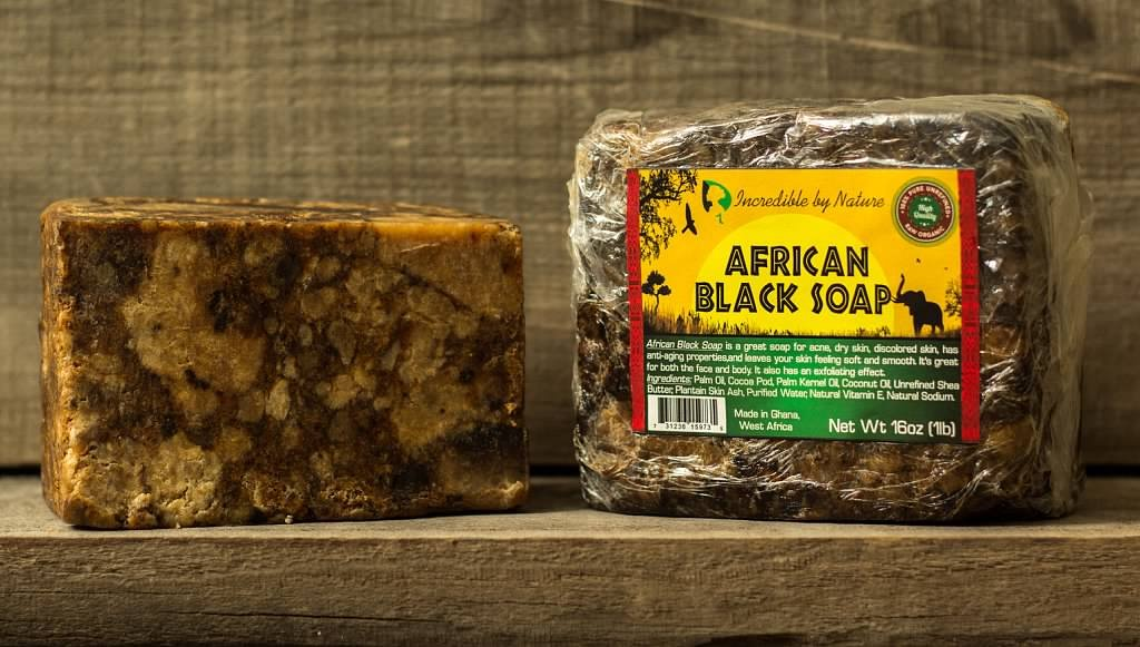 #1 Best Quality African Black Soap - Bulk 1lb Raw Organic Soap for Acne, Dry Skin, Rashes, Burns, Scar Removal, Face & Body Wash, Authentic Beauty Bar From Ghana West Africa - Incredible By Nature by Incredible by Nature (Image #6)