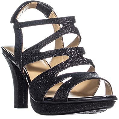 62a28a3f653 Naturalizer Dianna E5554S9907 Black Glitter (6 Medium)