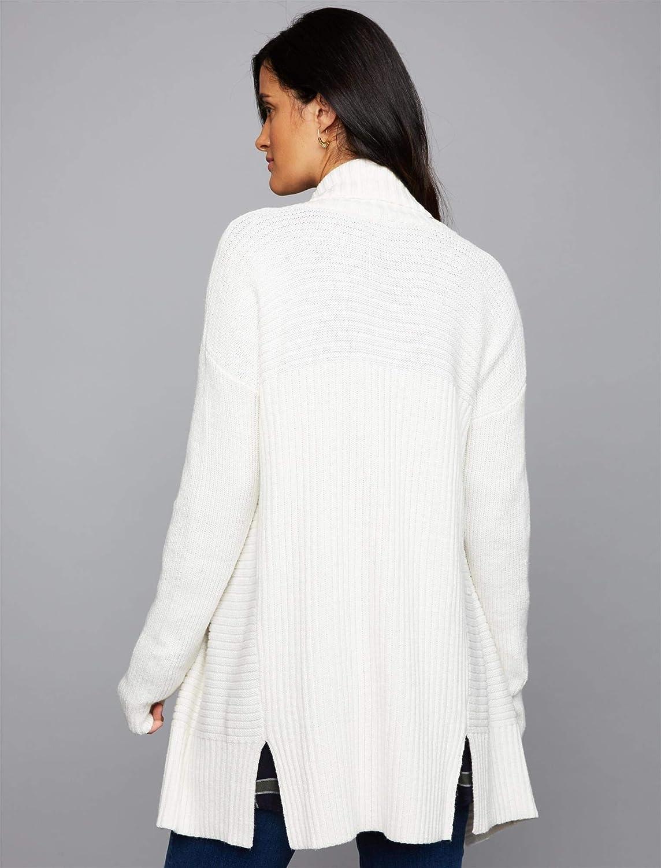 A Pea in the Pod Drape Front Maternity Sweater