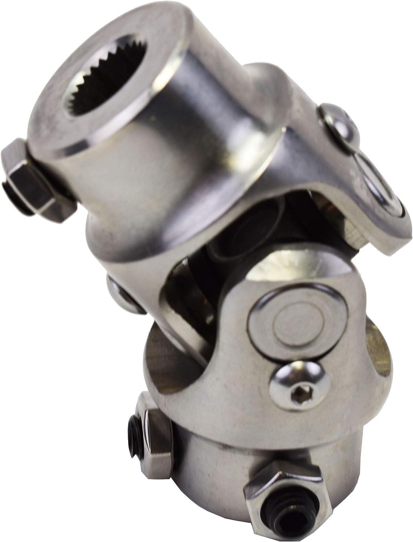 A-Team Performance Forged Steel Yokes Steering Shaft Universal U-Joint 9//16 26 Spline To 3//4 DD