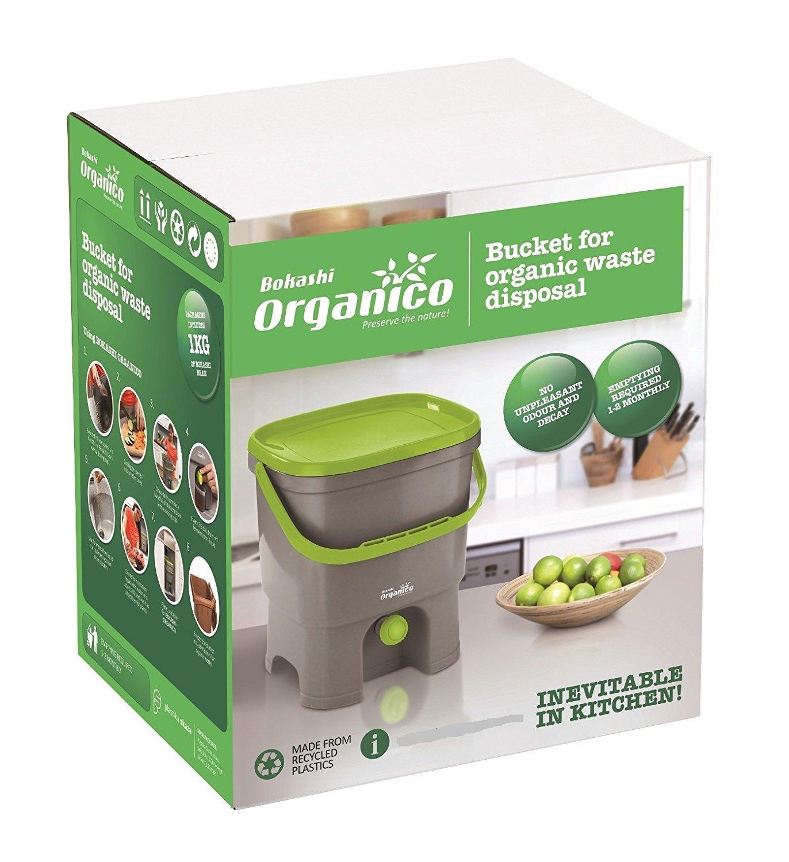 Bokashi Organico Juego - innovadora bio Cubo de basura para basura de cocina y Compost: Amazon.es: Hogar