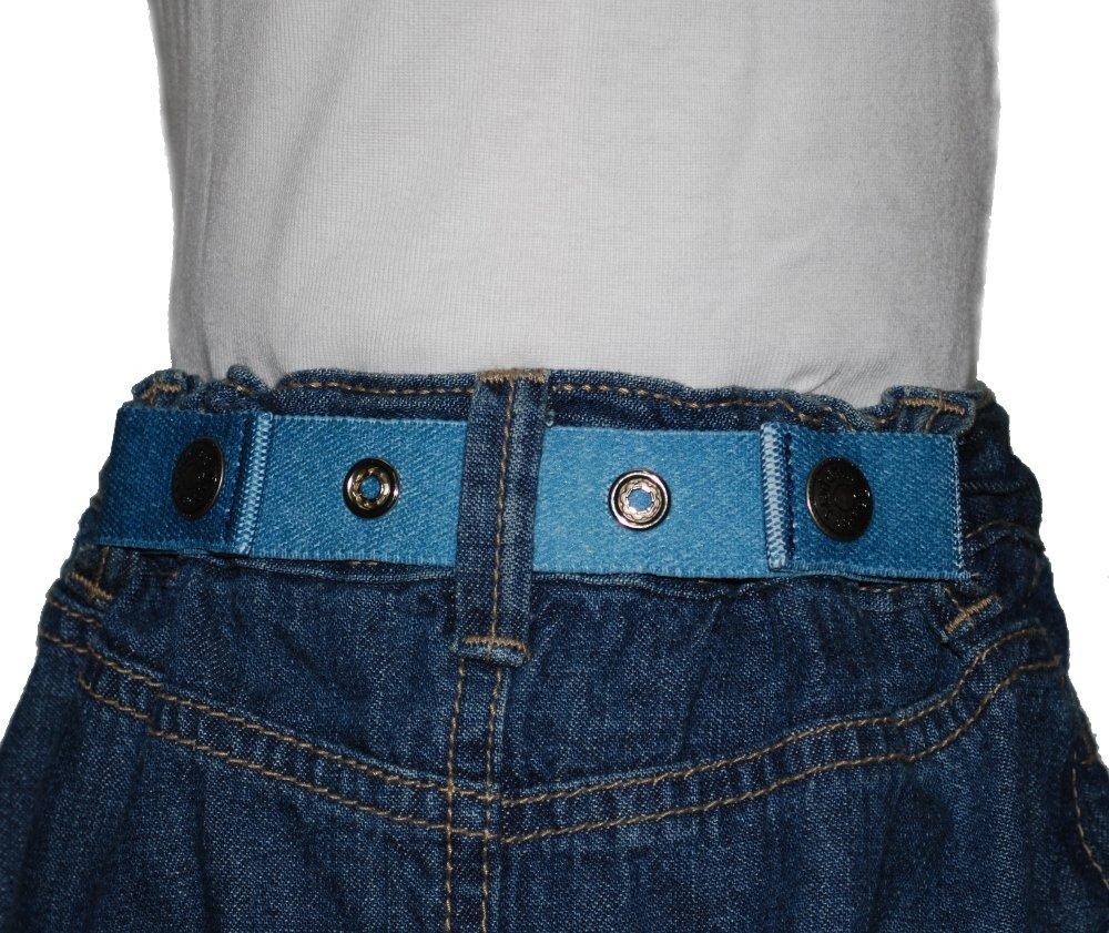 Dapper Snapper Baby & Toddler Adjustable Cinch Belts ~ Many Colors (Denim)