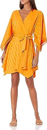 Keepsake the Label Women's Long Sleeve Arrows Mini Wrap Dress