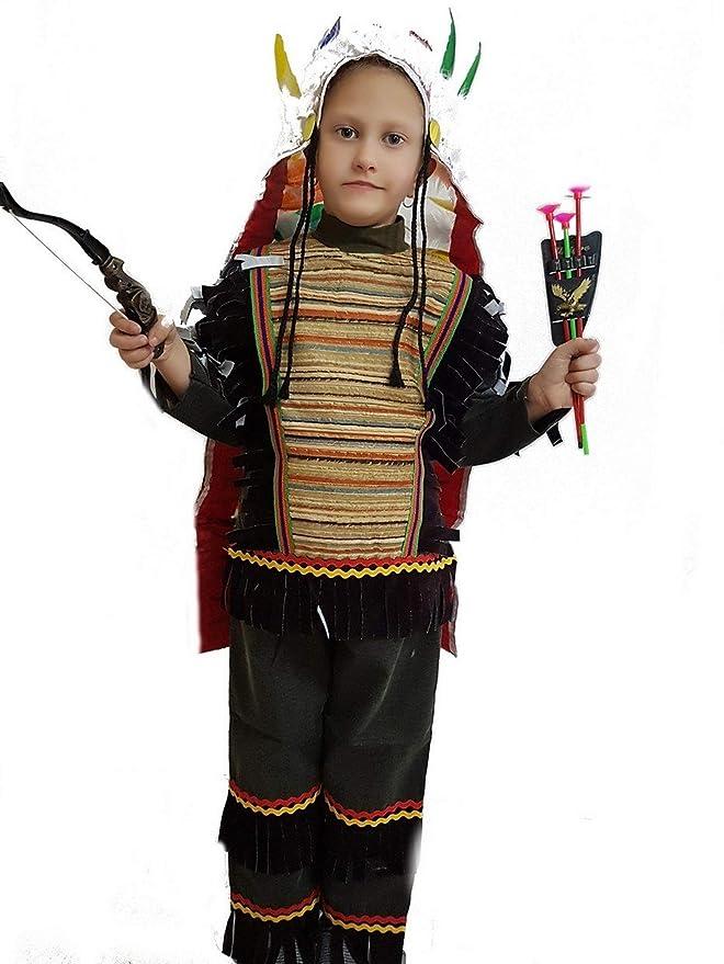 pequeños monelli Disfraz Indio Niño Vestido de Carnaval Indio ...