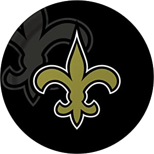 Creative Converting 8 Count New Orleans Saints Paper Dinner Plates
