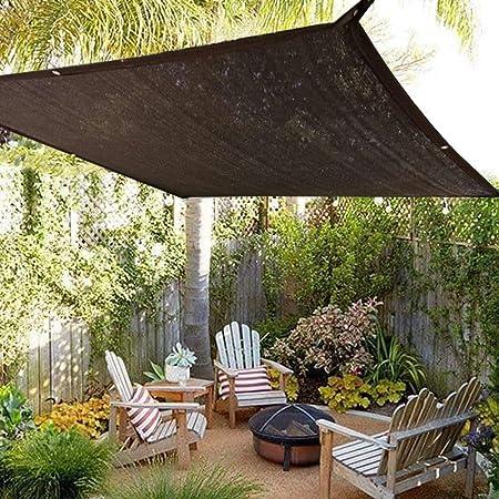 E.enjoy Malla Sombra De Red Sun Mesh Shade Sunblock Shade Tela Resistente a Rayos UV Red de Flor de jardín con tasa de sombreado del 90% (Size : 400cm x 800cm): Amazon.es: