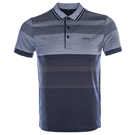 6047218db BOSS Paule 5 Polo Shirt in Navy: Amazon.ca: Sports & Outdoors