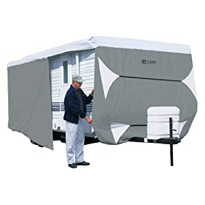 Classic Accessories OverDrive PolyPro 3 Deluxe Travel Trailer Cover, Fits 22' - 24'