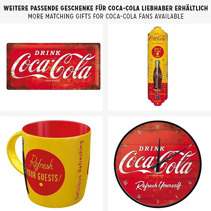 CCRMS39 Collectible Coca-Cola Retro Metal Sign 30 cm H x 20 cm W