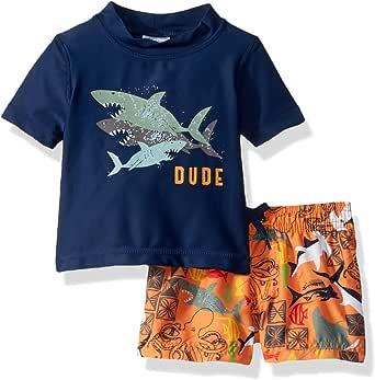 Amazon.com: KIKO & MAX Toddler Boys Set with Short Sleeve ...