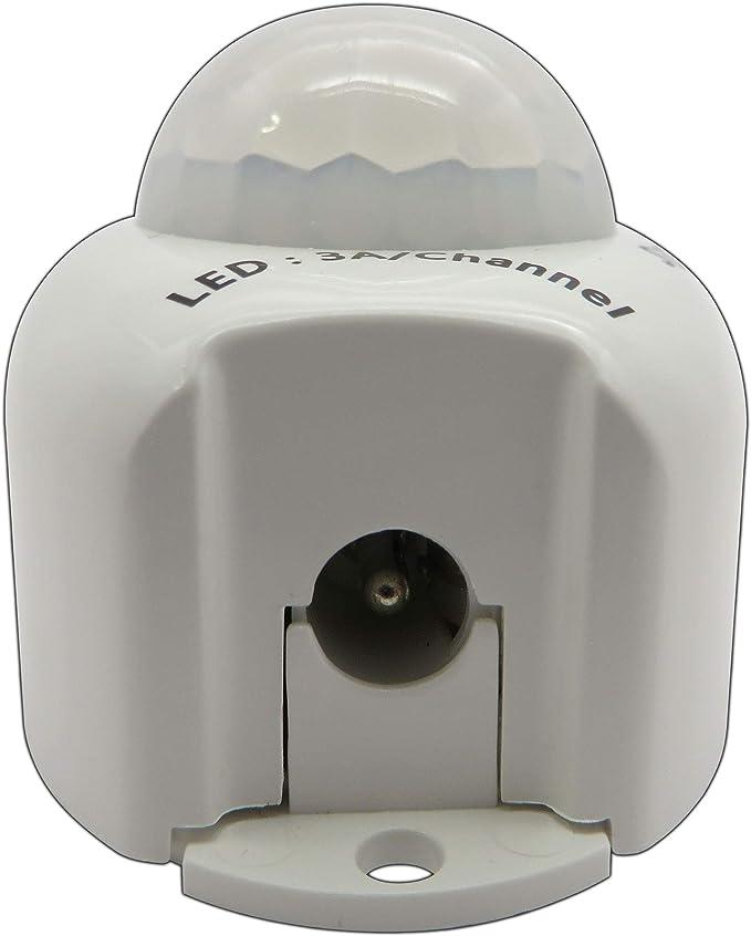 PB-Versand Mit Hohlsteckeranschluss 12 V CC, 4 A Universell 36.00watts 12.00volts Sensor de movimiento por infrarrojos para tiras de luces LED