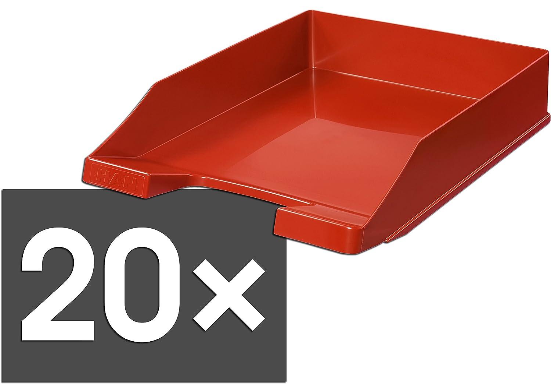 HAN 1027 Briefablage KLASSIK, DIN A4 C4, stapelbar, stabil, modern (lemon   20er Pack) B07BYDXPZC | Förderung