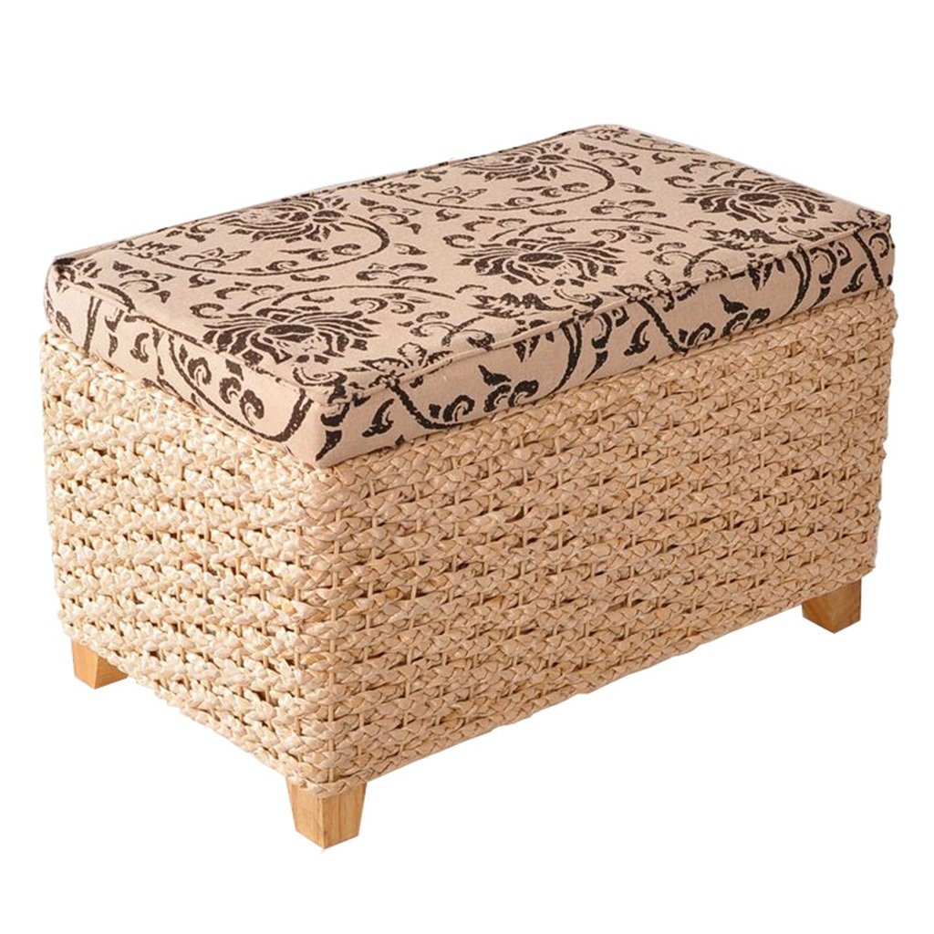 Sitting Stool Store Children's Toys Low Stool Solid Wood Chair Storage Shoe Bench Sofa Stool Lazy Sofa Furniture Accessories (Color : Wood, Size : 503031 cm)