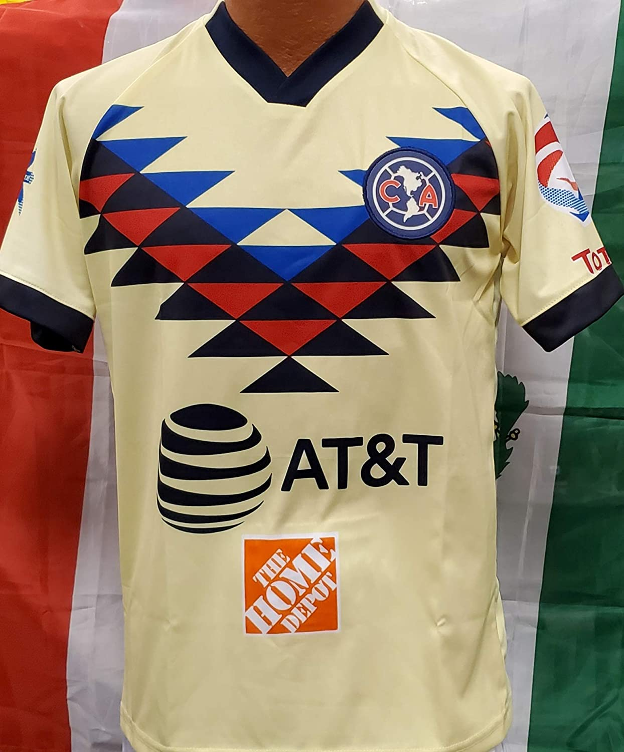 Sport New Aguilas del America Generic Replica Jersey Adult Large 2019