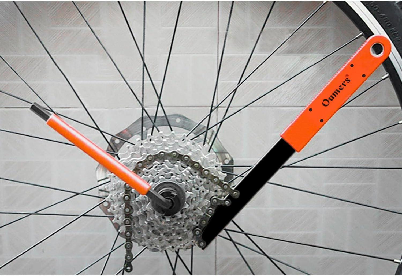 Bike Freewheel Chain Whip Sprocket Lockring Remover Tool Cassette Cycle Bike