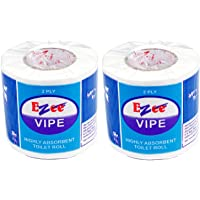 Ezee Toilet Tissue Roll - 2 Ply (Pack of 2)