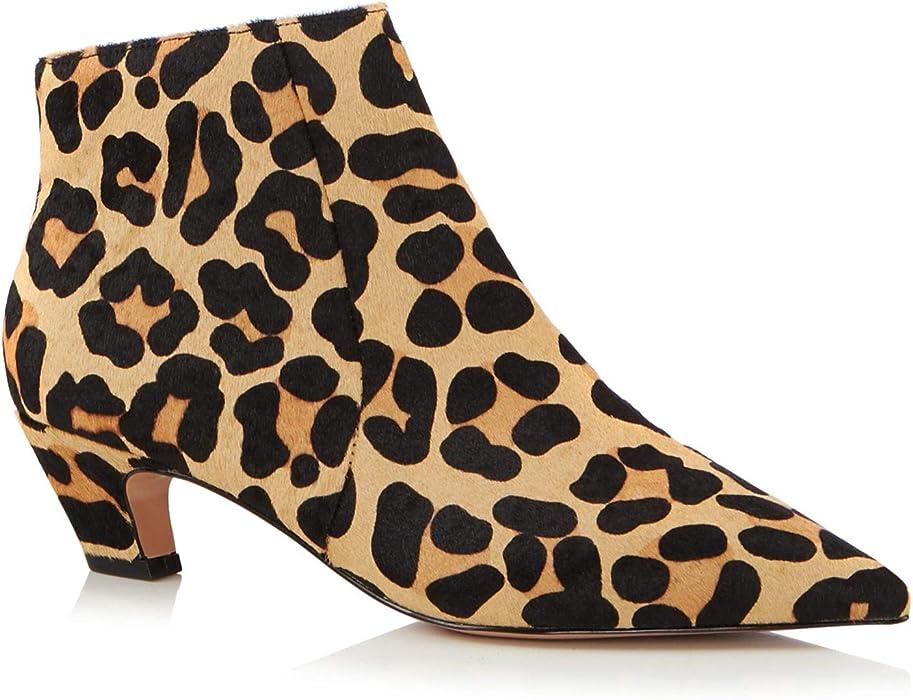 11485d28b73 J By Jasper Conran Womens Multicoloured Leopard Print  Jitty  Kitten Heel  Boots