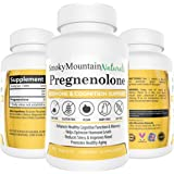 Pregnenolone 50mg Extra Strength (2 Month Supply). Reduces Menopausal and PMS Symptoms. Also For Mood, Mental Sharpness, Immune System and Stress. Free of Soy, GMOs and Dairy. Vegan and Veggie Capsule