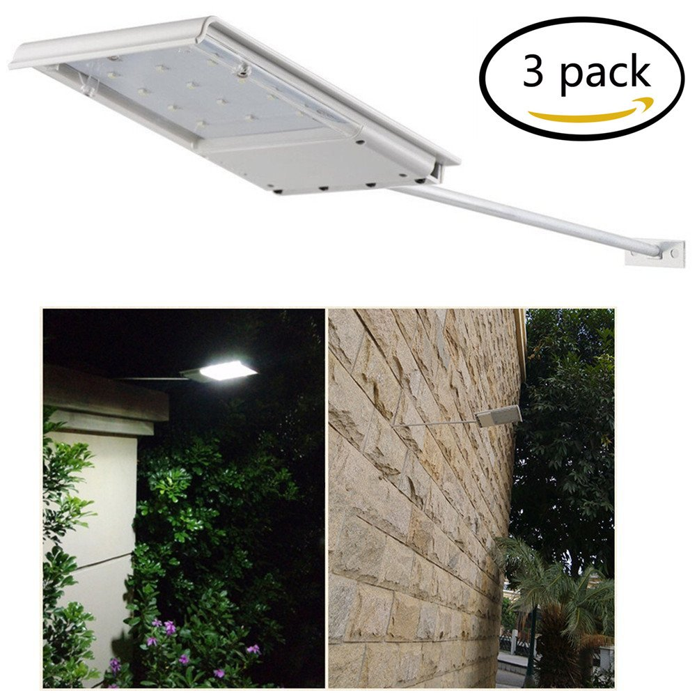 Amazon fami waterproof solar powered led lightwall light amazon fami waterproof solar powered led lightwall lightsecurity night lightsignage lighting for outdoor perimeter fence garden deck posts workwithnaturefo