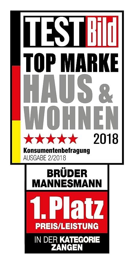 Brüder Mannesmann Werkzeuge 74 piezas Juego de herramientas, 1 pieza, m29074
