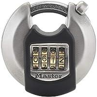 MASTER LOCK Candado Redondo Alta Seguridad [Combinacion] [Acero