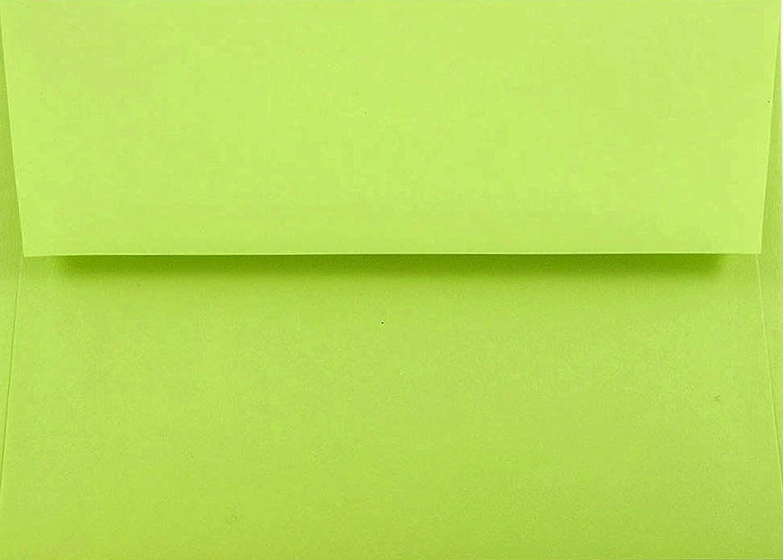 BRIGHT Lime Grün A7–50 Box 5–1 10,2 cm X 7–1 10,2 cm Einladung Umschläge von den Umschlag Galerie B01F0GFVNE | Deutschland Berlin  | Hohe Qualität und Wirtschaftlichkeit  | Outlet