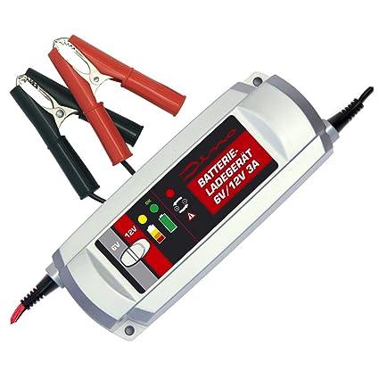 Dino Power Pack Cargador de batería 6V/12V 3A para batería ...