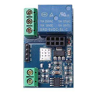 TOOGOO(R) 1PCS ESP8266 5V WiFi Relay Module Things Smart Home Remote