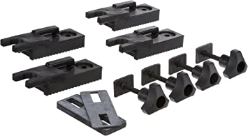 Thule 697-1 Adapter Set with T-Track Adapter 20 x 20 mm for Various Racks