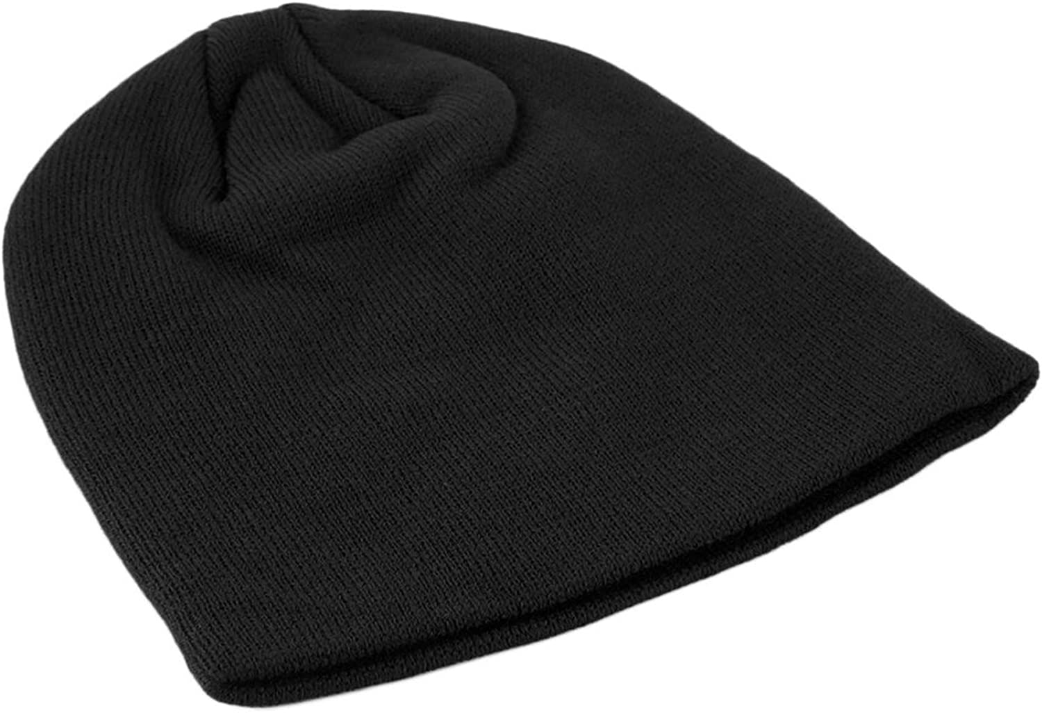 Ron Kite Fashion Soft Comfortable Hat Cap Solid Knitted Beanie Winter Warm Hat Unisex Casual Outdoor Hat