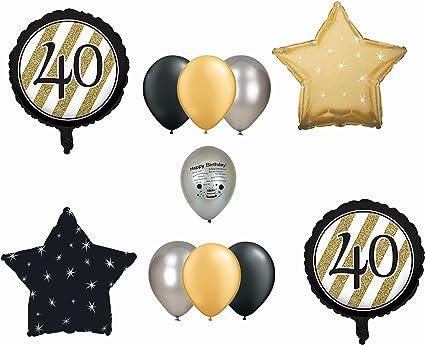 "18/"" Foil Balloon Happy 40th Birthday"
