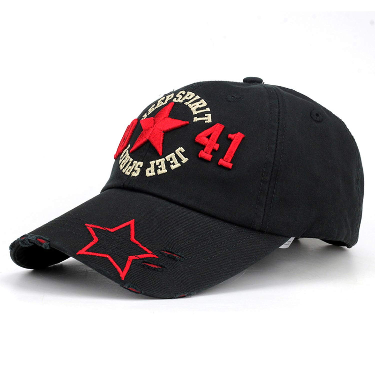Baseball Cap Men Adult Army Cap Hip Hop Casquette Washed Cotton Adjustable Solid Color Hat Gorras para Hombre Black at Amazon Womens Clothing store: