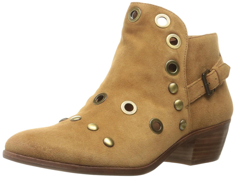 Sam Edelman Women's Pedra Ankle Bootie B01J5OASTE 9.5 B(M) US Saddle Suede