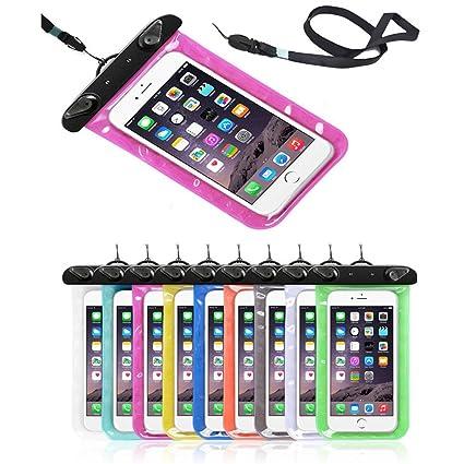 Fengtu Cell Phone Packs Waterproof Iphone 6plus Case,Universal Dry Bag Waterproof Pouch, Clear