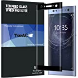 TopACE Full Screen Coverage 3D Anti-Scratch 9H Hardness Tempered Glass Screen Protector Film for Sony Xperia XA2 Ultra (Black)