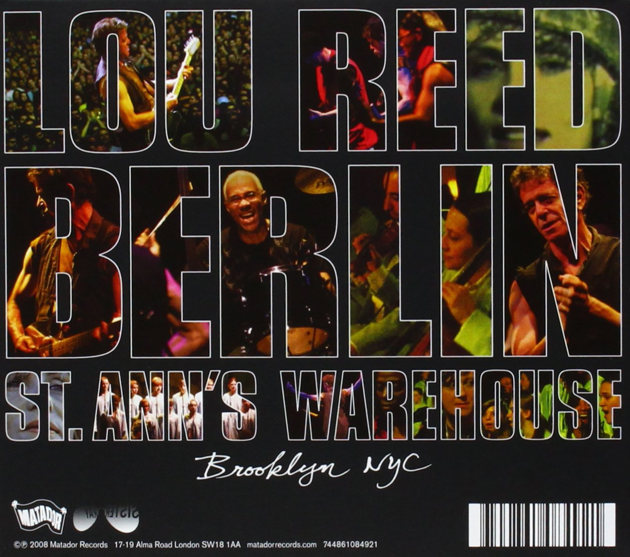 Berlin: Live at St. Ann's Warehouse