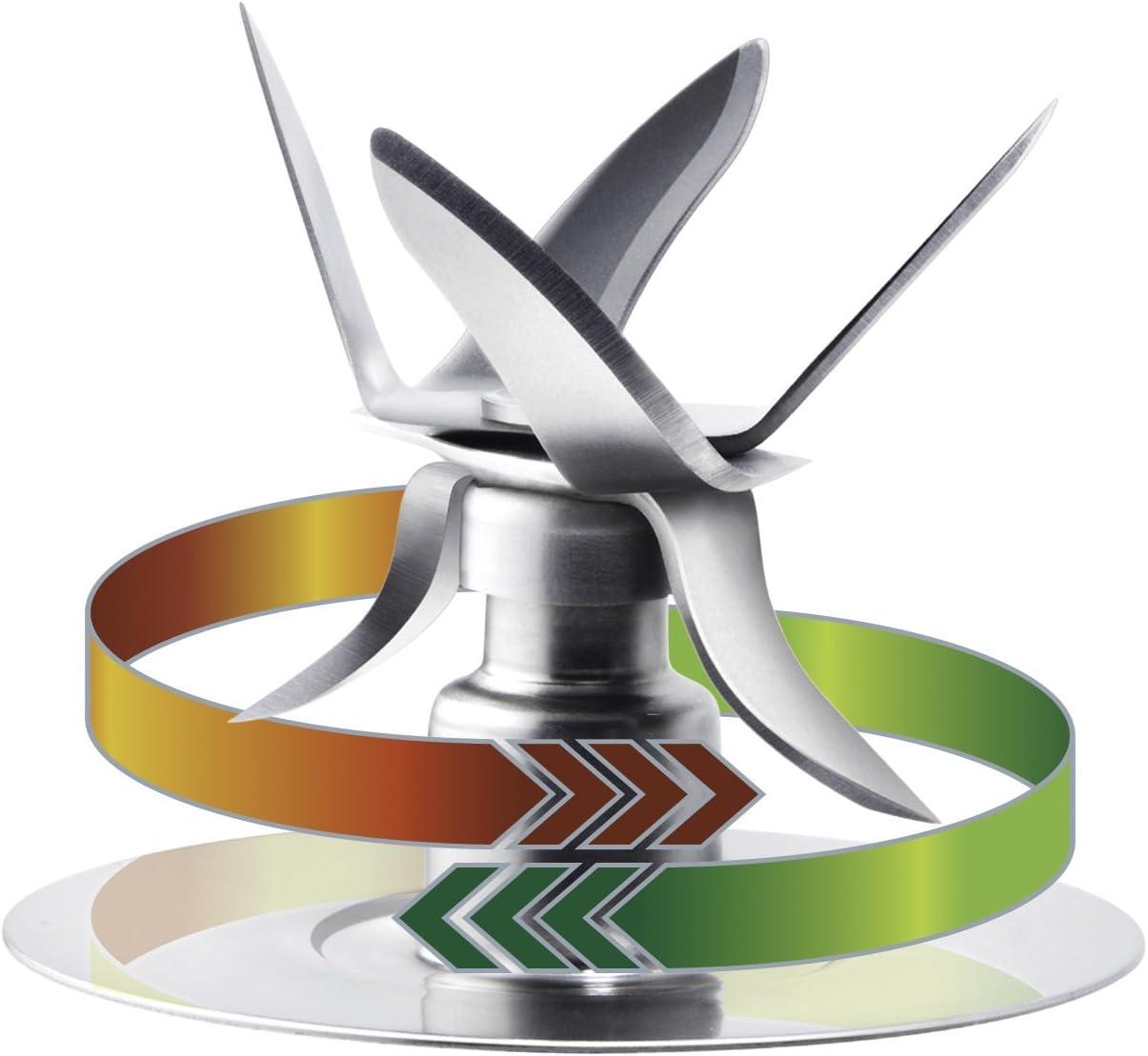 Oster 004980-050-000 - Cuchilla 6 puntas con anillo de sellado ...