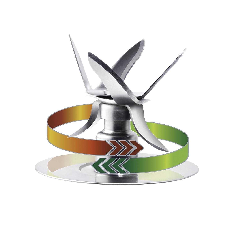 Eiszerkleinerer Oster 004980-050-000 Messereinheit mit 6Flügeln und Dichtungsring für Mixer