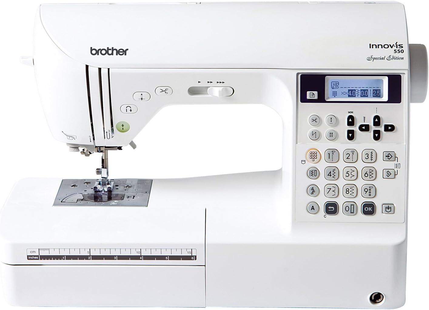 Máquina de coser Brother Innovis 550: Amazon.es: Hogar