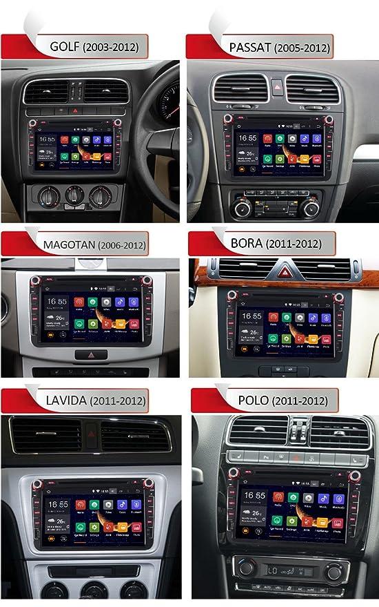 Rupse - Sistema de navegación radio DVD GPS Stereo Nuevo Android ...